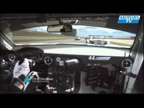 Incident FIA GT3 Portimao 2011