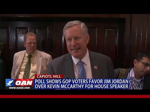 POLL shows GOP voters prefer Jordan over McCarthy in house leadership fight