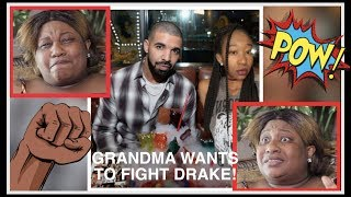 ANGRY GRANDMA READY TO FIGHT DRAKE FOR DATING GRANDDAUGHTER  DATING A CELEBRITY CHALLENGE