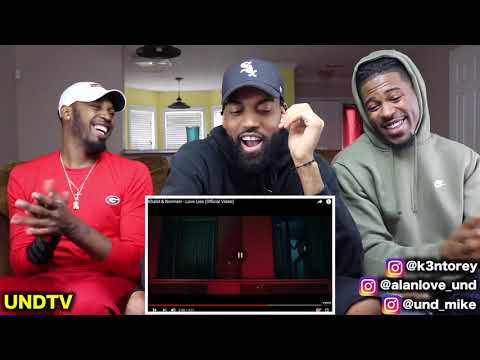 KHALID & NORMANI - LOVE LIES [REACTION]