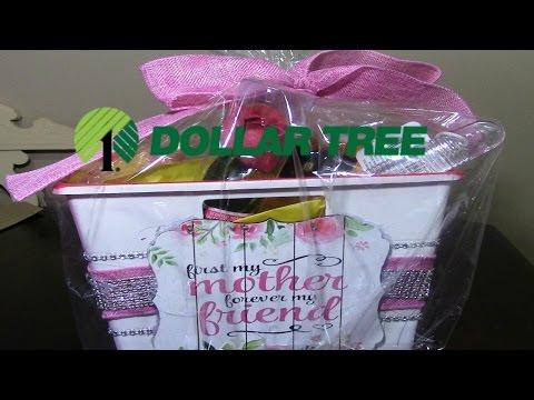Dollar Tree DIY Mother's Day Spa Gift Basket