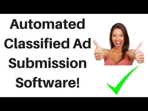 Top List of Automated Classified Ad Submission Software