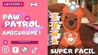 """ZUMA """"LECCION 1 """" AMIGURUMI A CROCHET !! LECCION GRATUITA"""