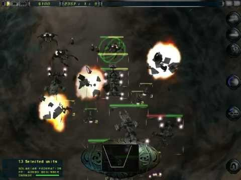 Imperium Galactica II: Fleet Battle: Solarian vs Kra'Hen