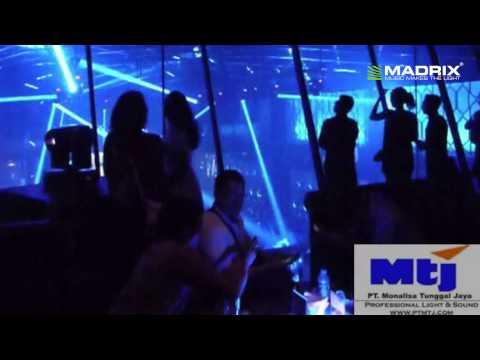 MADRIX dvi @ X2 night club Jakarta