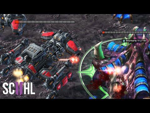 The Greatest Battlecruiser Rush Ever - StarCraft 2
