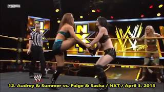 Audrey Marie - All Backbreakers, Reverse DDT & Matrix Moves - 2018 Collection