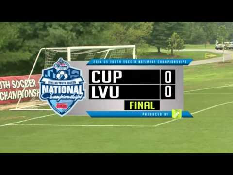 2014 US Youth Soccer National Championships Day 1 Under-18 Boys
