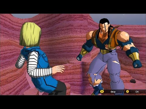 Super 17 Absorbs Android 18 - SDBH: World Mission