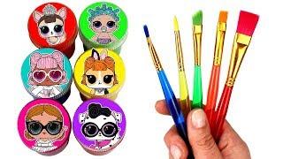 Drawing & Painting LOL Surprise Dolls Confetti Pop LOL Surprise Pets Wave 2 Lil Sisters Gold Balls