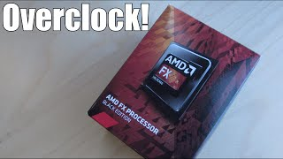 AMD FX 4300 Overclock Performance Test!