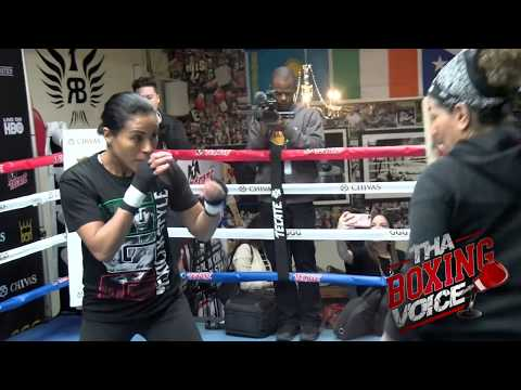 Cecilia Braekhus Trained by the Great Lucia Rijker