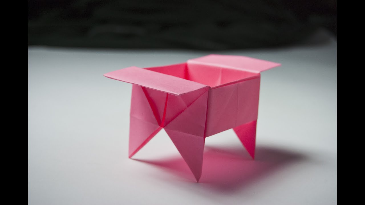 How To Make An Origami Box Origami Candy Dish