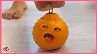오렌지가 살아 있어요! 주방놀이 장난감 놀이 kids pretend play with orange toys
