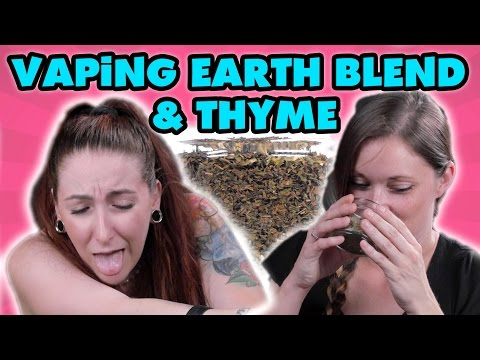 First-timers Vaping Thyme & EEB with Davinci Ascent Vaporizers