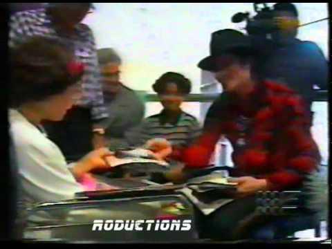 Michael Jackson In Australia 1996