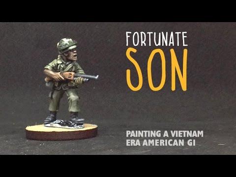 Fortunate son: Painting a Vietnam-era American GI
