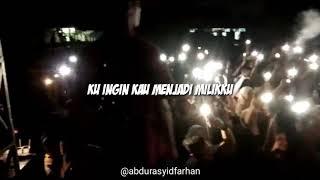 Story WA lagu Akad Payung Teduh