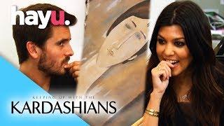 Is Kourtney & Scott's Modigliani Real? | Keeping Up With the Kardashians