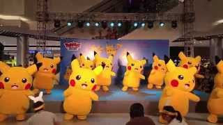 Pikachu Dancing / AEON Mall Long Biên