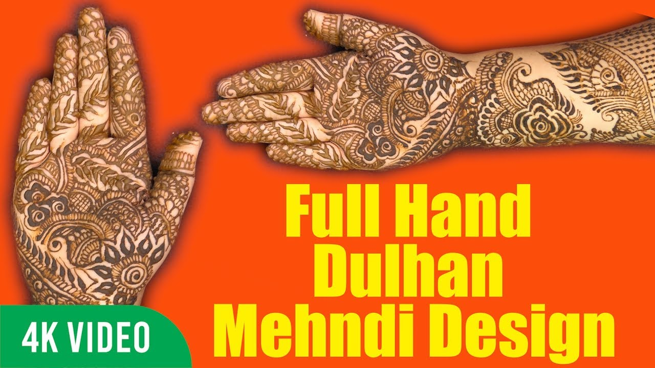 Full hand dulhan mehndi design step by step mehndi tutorial 4k full hand dulhan mehndi design step by step mehndi tutorial 4k ultra hd video baditri Images