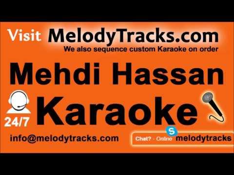 Haseen Fiza Ka Taqaza Hai   Karaoke   Mehdi Hassan   Pakistani