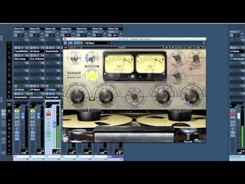 Mixing 201 -- Demonstration -- Waves Kramer Tape MPX vs Waves Abbey Road J37