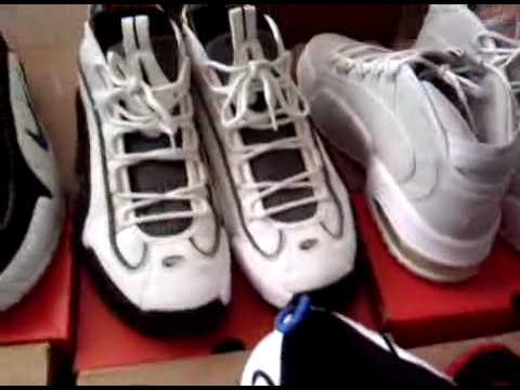 PennY Hardaway Shoe Collection / 1/2 cent Penny /Nike Air Max Penny / Air  Penny ii iii iv - YouTube