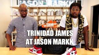 trinidad james talks air jordan 1 history at jason markk