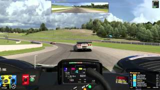iRacing : Slightly Prophetic. (HPD @ Mosport)