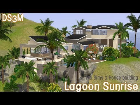The Sims 3 House Building - Lagoon Sunrise - Speed Build