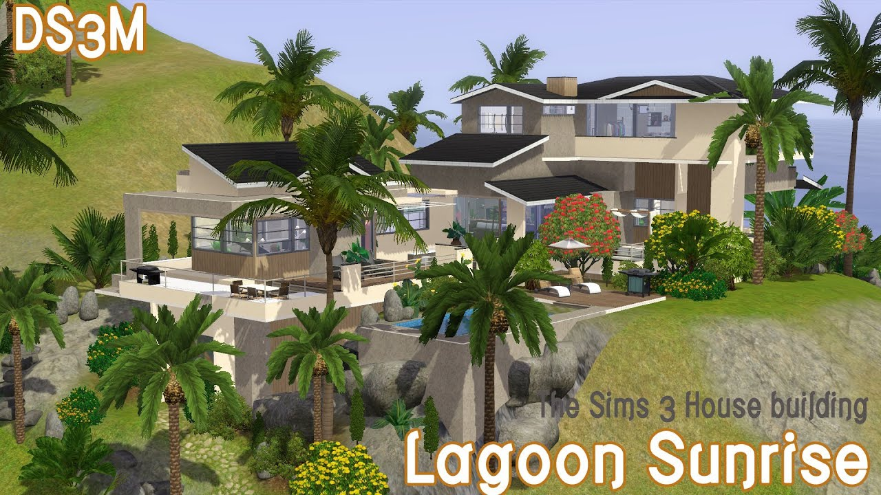 House of speed green bay - The Sims 3 House Building Lagoon Sunrise Speed Build