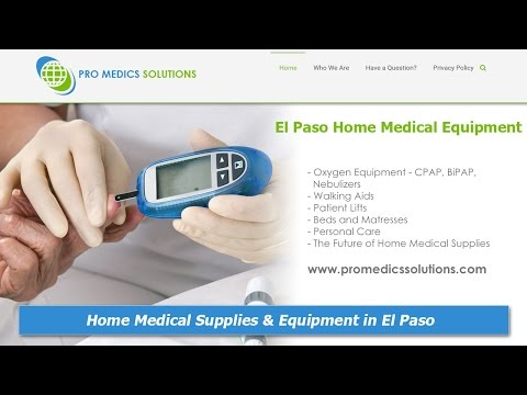 El Paso Home Medical Supplies And Equipment :: Pro Medics Solutions