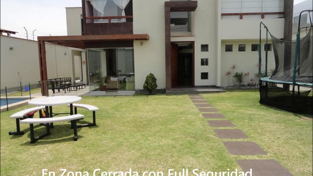 Ventasprimeras venta casa moderna la molina a1 t 7279765 for Casas modernas con interiores contemporaneos