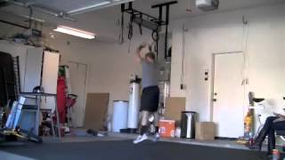 CrossFit Training work out WOD 1 with TV Fitness, weight-loss Body Transformation Star Chris Powell