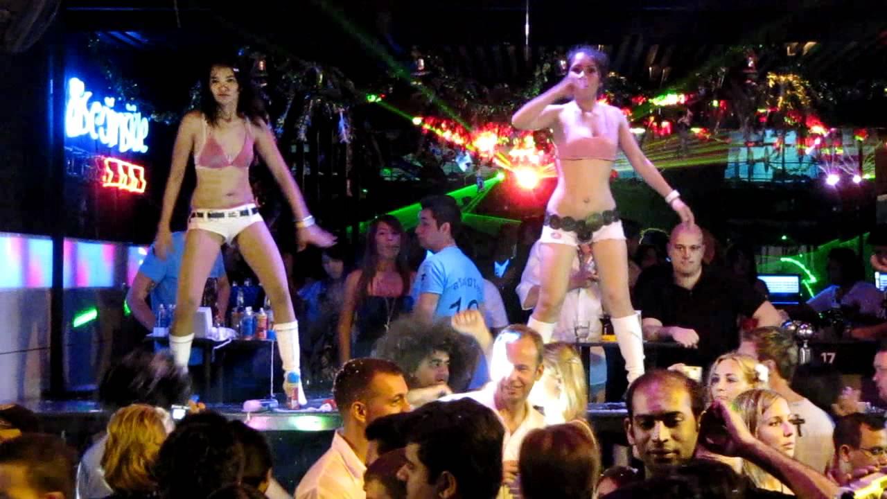 Thai Naked Wild Girls Go-Go Dancers In Pattaya Thailand -9597