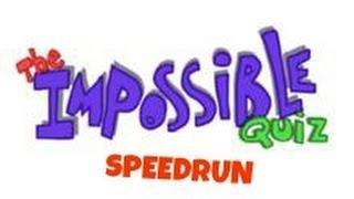 The Impossible Quiz Speedrun 00:05:10