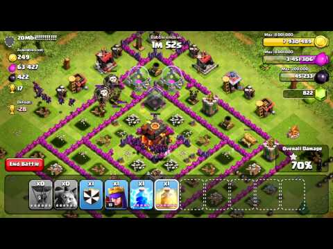Masters League Balloon Minion (High Level Strategic Gameplay)- Clash of Clans