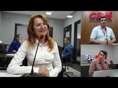 Entrevista CBN Campo Grande: Luciene Maria da Silva