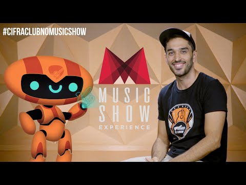 CIFRA CLUB NO MUSIC SHOW | Convite