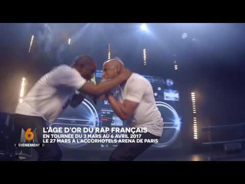 Vidéo L'ÂGE D'OR DU RAP FRANÇAIS, LA TOURNÉE !