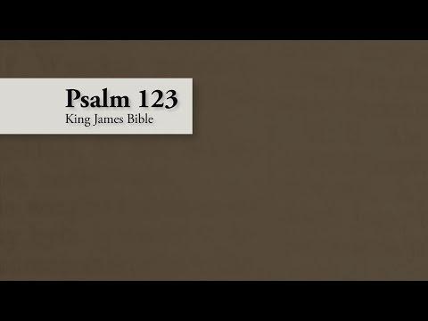 Psalm 123 – King James Bible