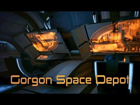 Mass Effect -  Gorgon Space Depot [with music] (1 Hour of Ambience)
