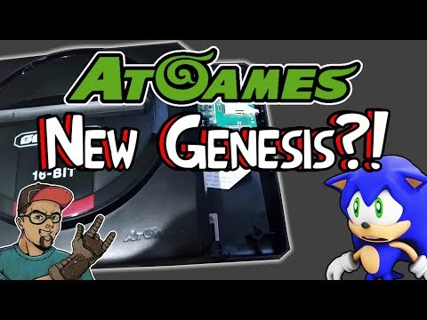 New AtGames 2018 Genesis! How Are These Fools Still Making Sega Products!?