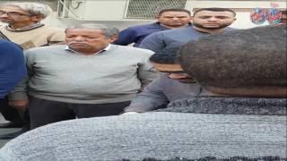 أخبار اليوم | المتبرعين من امام  مستشفىات جامعة عين شمس