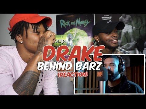 Drake - Behind Barz   Link Up TV - REACTION