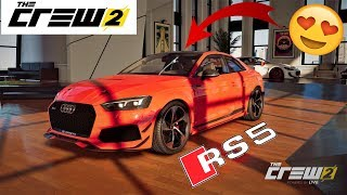 The Crew 2 custom test Audi rs5