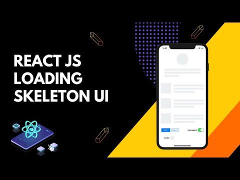 React JS Loading Skeleton UI