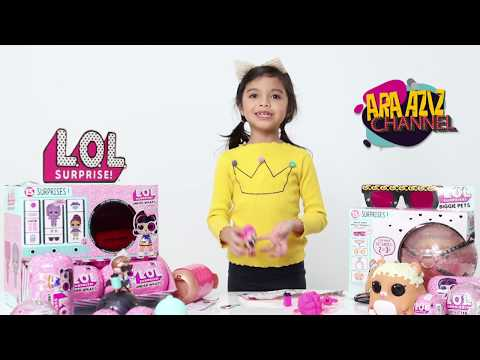 Unboxed With Toys 'R' Us (Episode 1-LOL SURPRISE EYE SPY SERIES)
