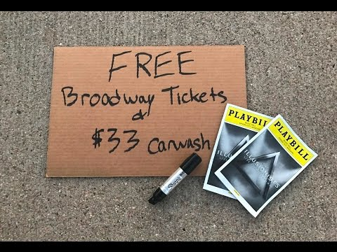 FREE Broadway Tickets and a $33 Carwash | Confessions of a Starving Artist | Episode 1